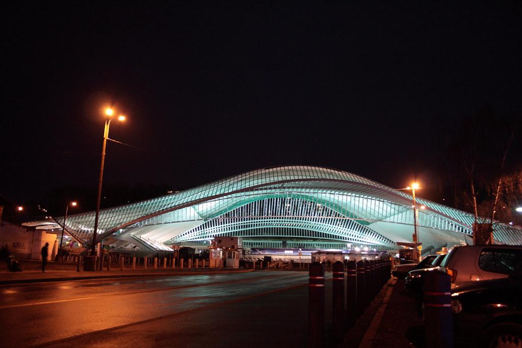 Gare de Liège-Guillemins en 2008