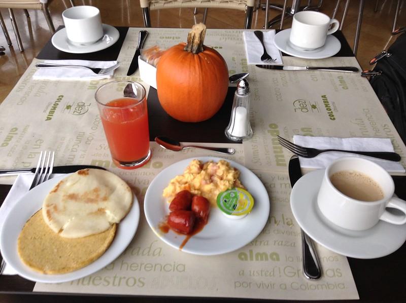 Desayuno paisa