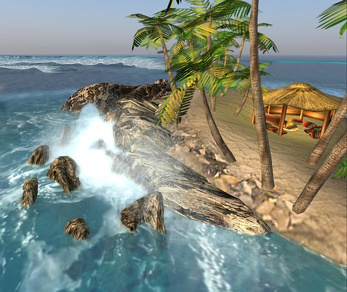 Antreas Alter: Making waves by Second Life Beach