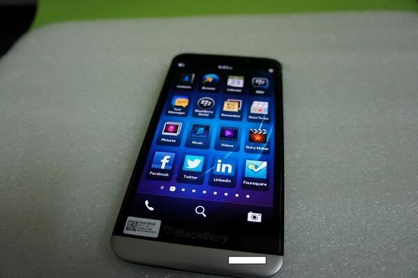 A10 Sera llamado BlackBerry Z30