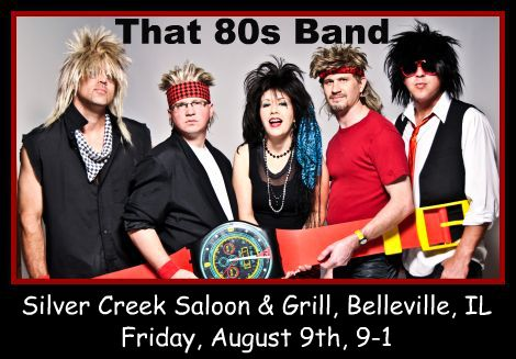 That 80s Band 8-9-13