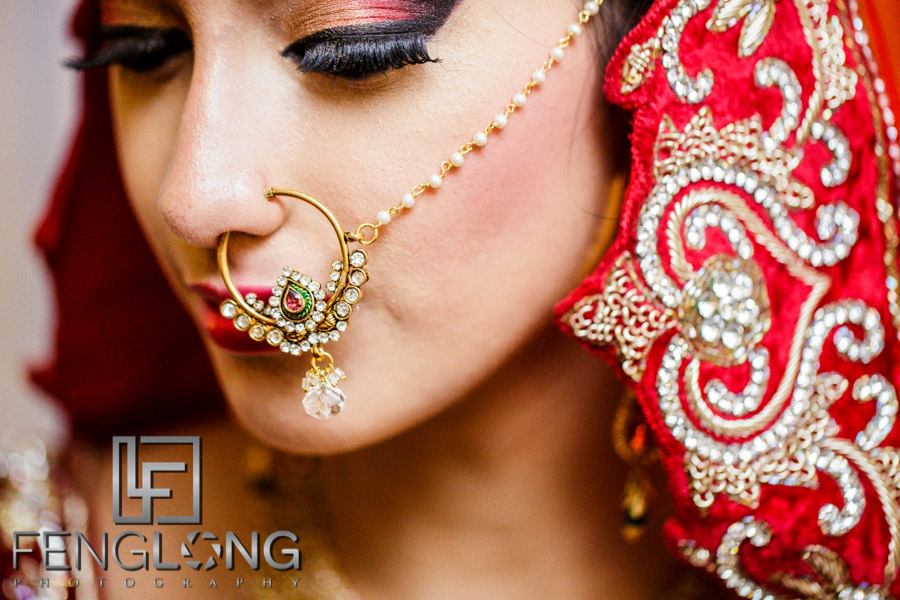 Bengali bride prepares for her Muslim wedding in Atlanta