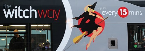 The Witchway Bus - Manchester City Centre