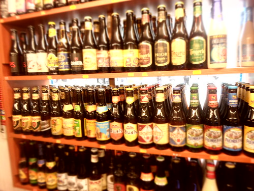 Lots of Belgian Beer