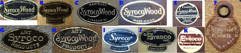 Syroco stickers