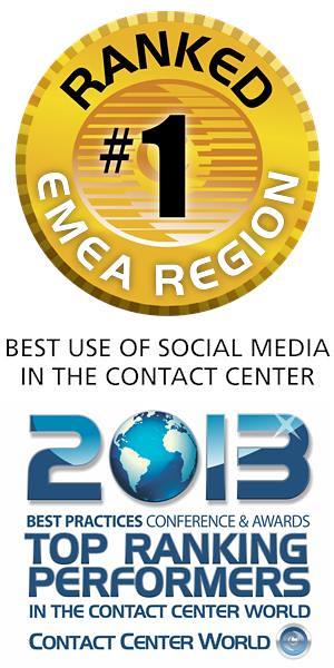 CCW Teleperformance UK award - 2013