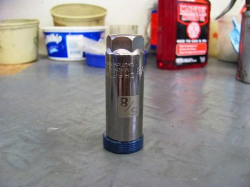 5/8 Inch Spark Plug Socket Fits Camshaft Seal
