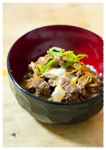 Beef Gyudon