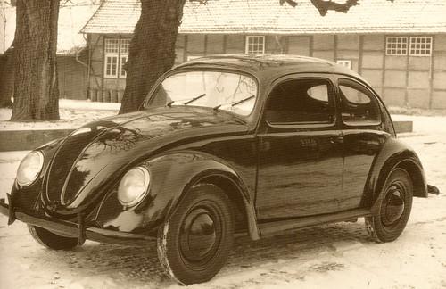 Volkswagen Beetle 1938 Prototype
