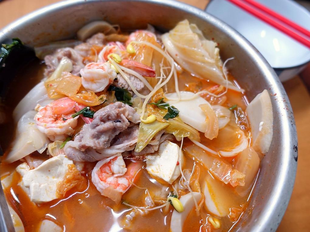 豆腐泡菜鍋