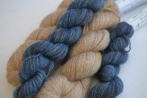 Mulberry Dyer Alpaca Silk Lace