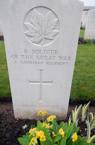 Vimy Ridge Grave 'Known unto God'