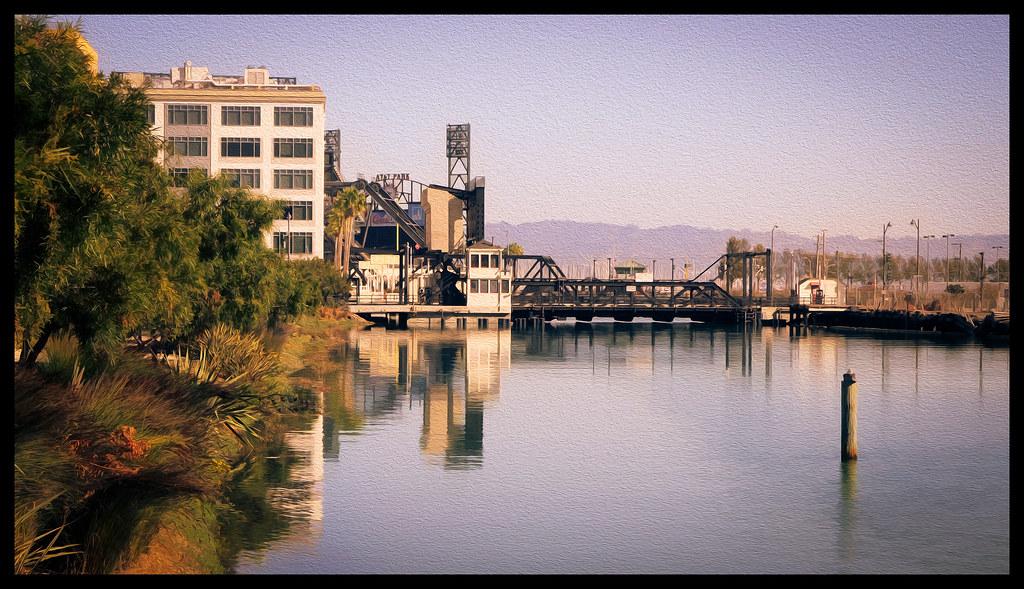 Mission Creek Morning - San Francisco - 2013