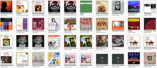 iTunes Albums Page 2