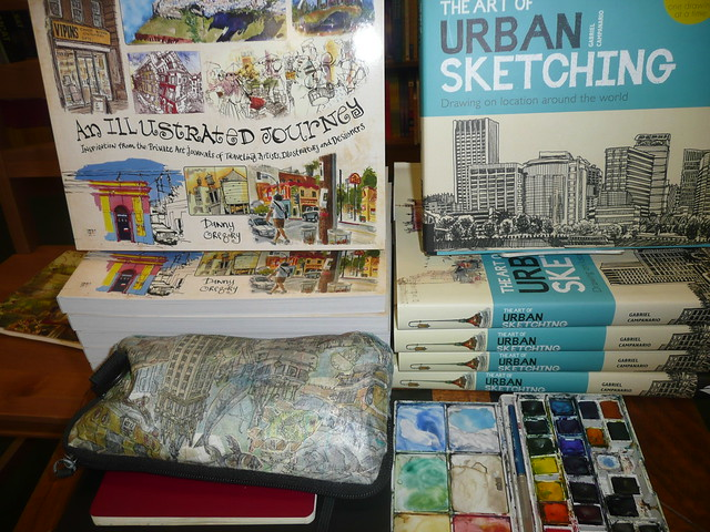 An Illustrated Journey & the Art of Urban Sketching
