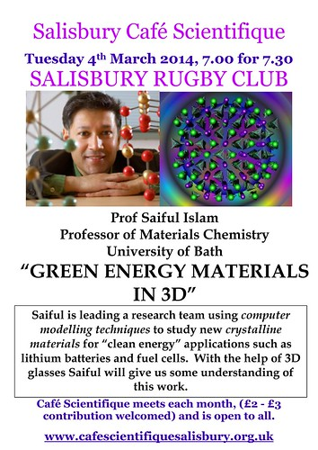 Poster for Prof. M Saiful Islam