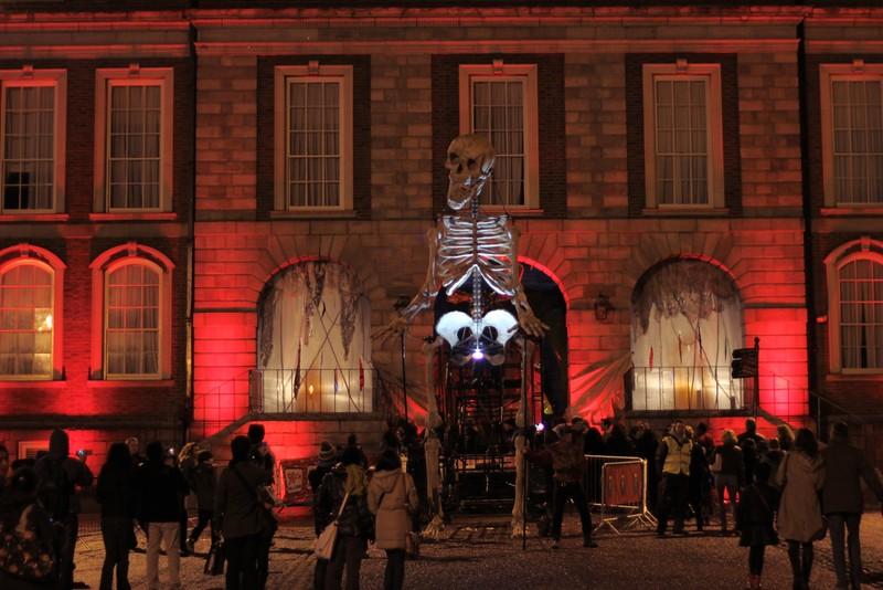 Bram Stoker Festival Skeleton