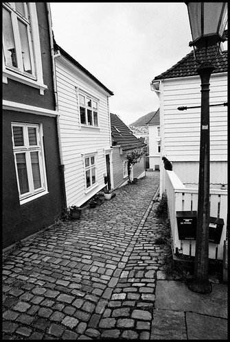 Bergen Back Streets 4 by Davidap2009