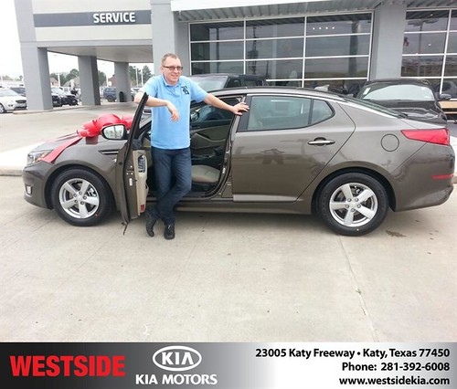 Happy Birthday to Andrey Platunov from William Hadnott and everyone at Westside Kia! #BDay by Westside KIA