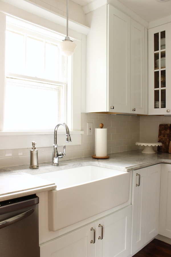 how to refinish kitchen sink island design fabric paper glue: my functional galley