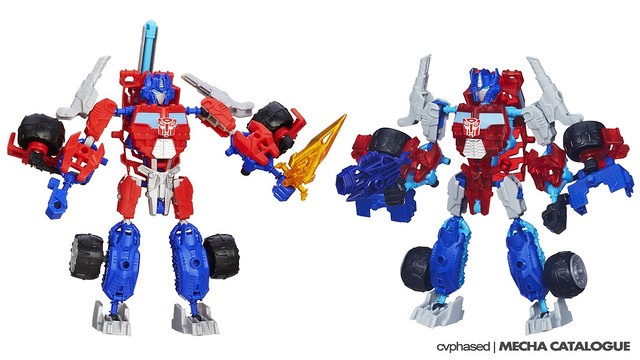 Transformers Construct-Bots Optimus Prime (Individual Release)