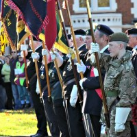 Town remembers the fallen