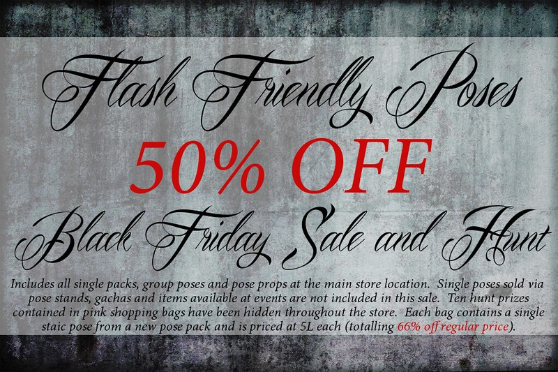 Flash Friendly Poses Black Friday Sale