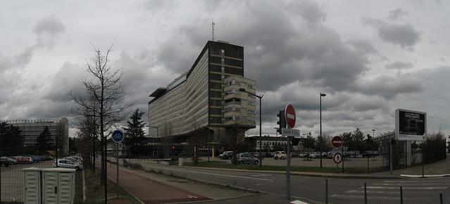 Hôpital Louis Pradel Lyon - panoramă
