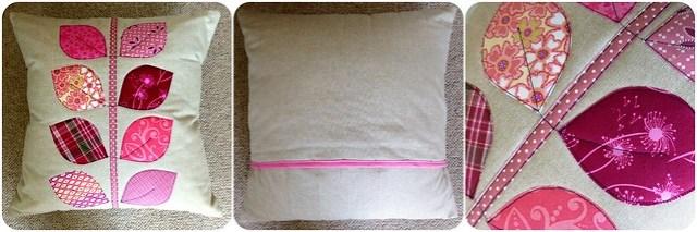 Applique Cushion Class sample