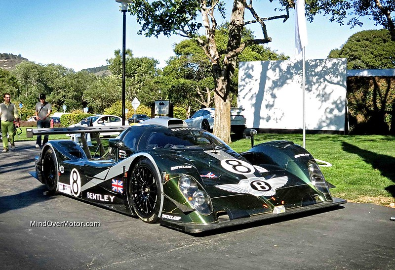Bentley Speed 8 Le Mans Race Car