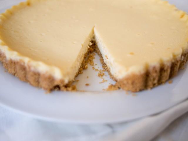 Masarpone cheese tart