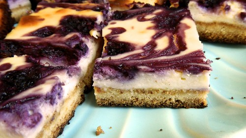 Blueberry Lemon Cheesecake Bars 24