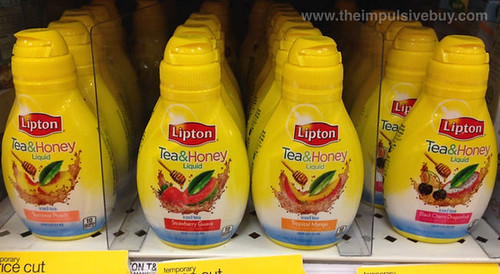 Lipton Tea & Honey Liquid
