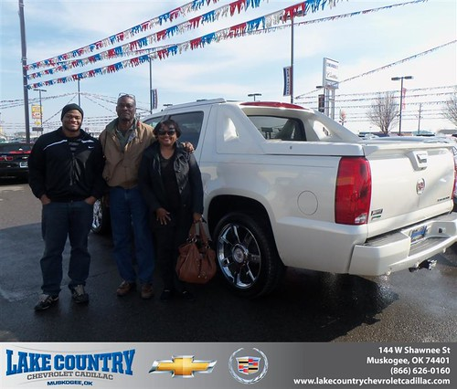 Wilson Cadillac: Happy Anniversary To Zelda S Fry On Your 2011 #Cadillac #Escalade Ext From Lloyd Wilson And