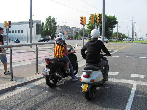 Pyrenees, Barcelona Scooter Riders