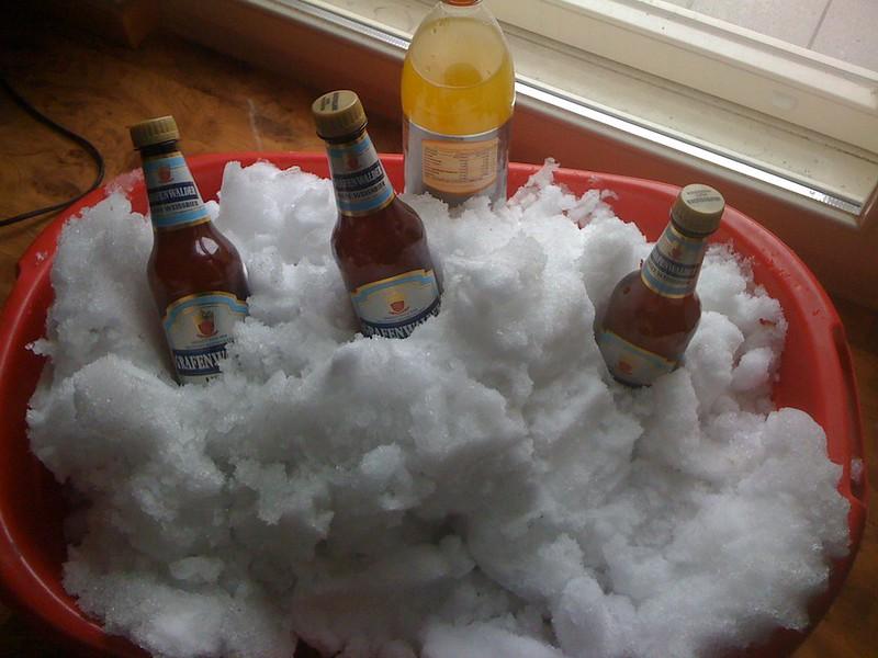 Bier auf Eis