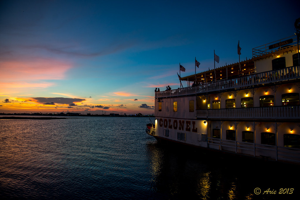 Colonel Paddlewheel Boat