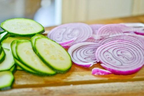 Zucchini & Red Onion Flatbread-2