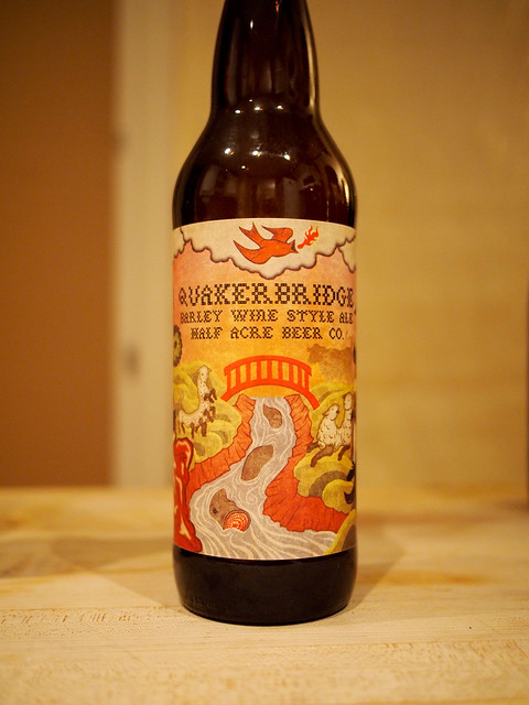 Half Acre Quakerbridge Barley Wine