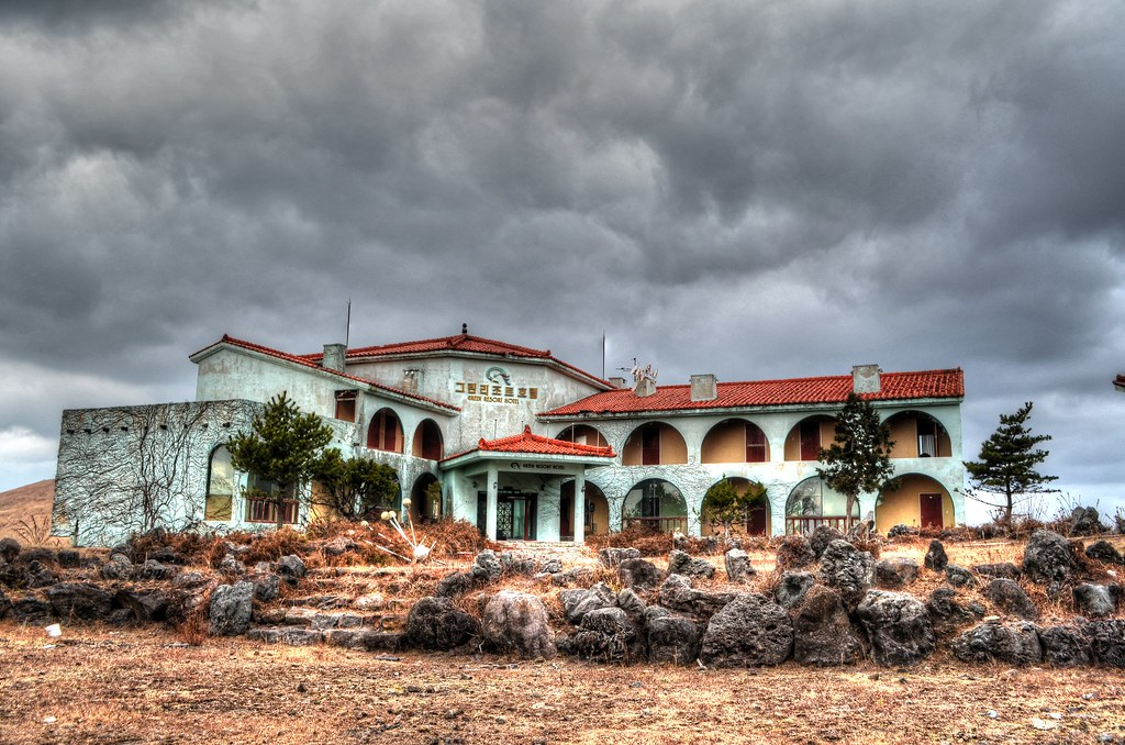 Green Resort Abandoned Hotel