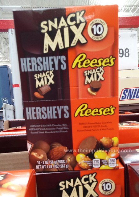 Hershey's and Reese's Snack Mixes