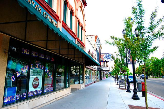 Main Street in Logan, Utah