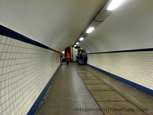Pedestrain Tunnel in Antwerp
