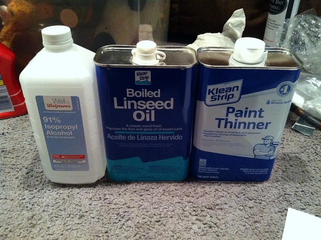 Boiled Linseed Oil And Mineral Spirits