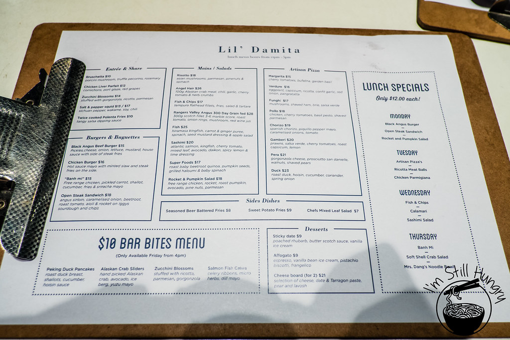 The Flynn Menu