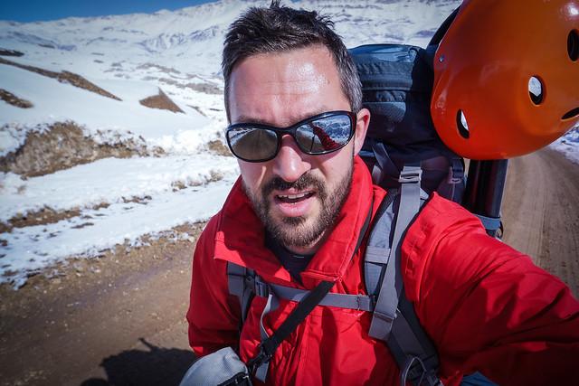 Zagros trekking 'selfie'