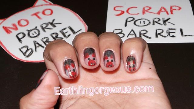 #scrappork #NOTD #nailart