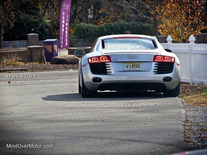 Audi R8 at Mach 5