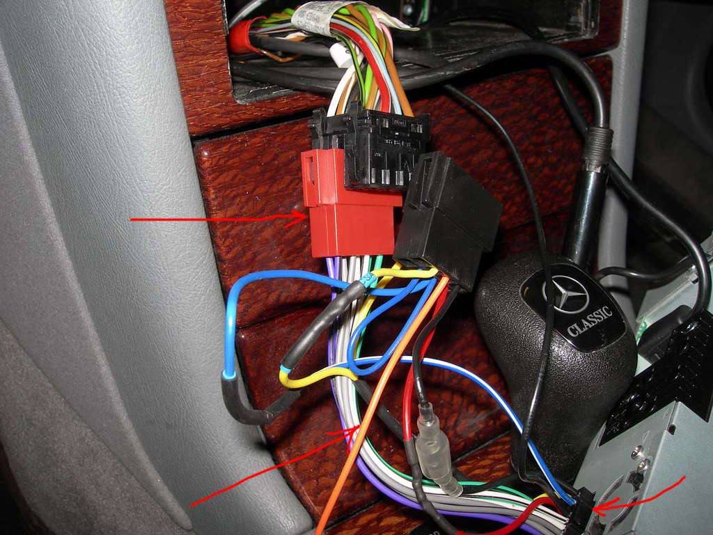 Mercedes W202 Wiring Harness