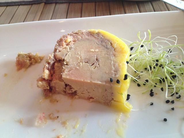 Foie gras cuit au torchon - L'Epigramme